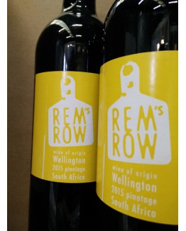 Rem's Row Pinotage 2015 Wellington